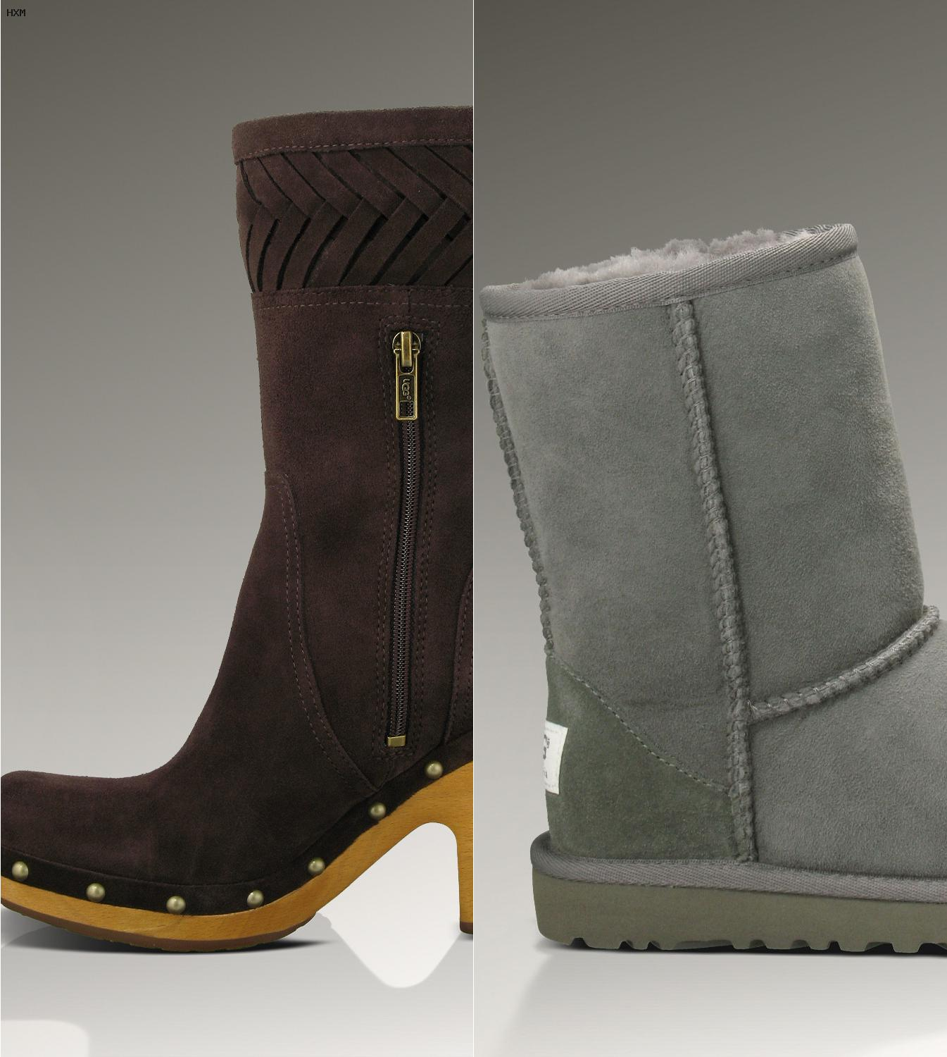 botas ugg bailey button negras